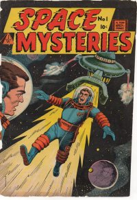 Large Thumbnail For Space Mysteries #1