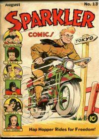 Large Thumbnail For Sparkler Comics #13
