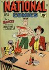 Cover For National Comics 72