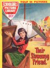 Cover For Schoolgirls' Picture Library 22 Their Stowaway Friend