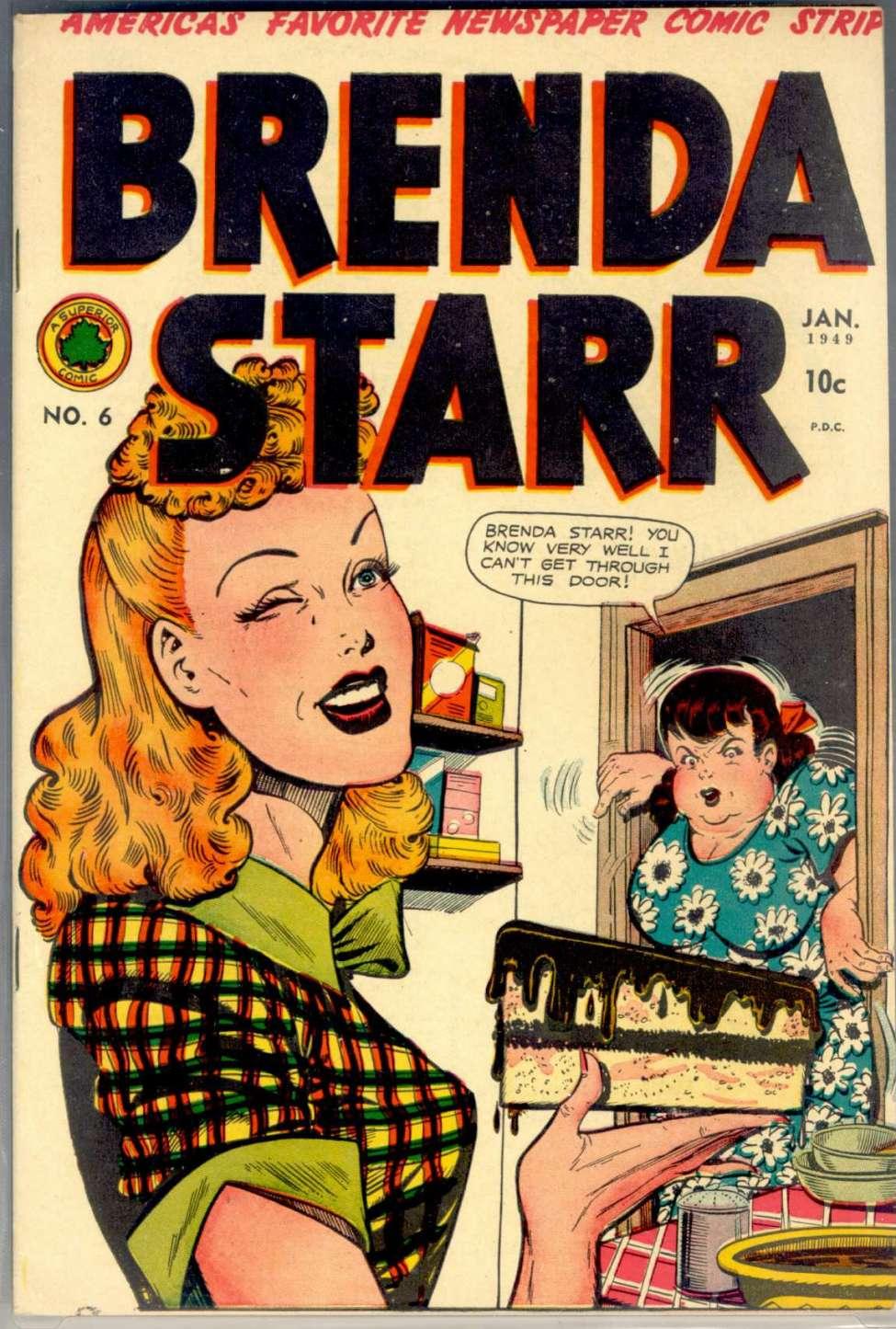 Brenda starr july 26 comic strip