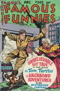 Large Thumbnail For Famous Funnies #203