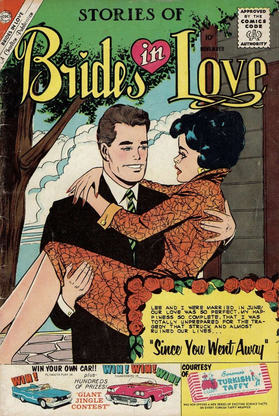 Comic Book Cover For Brides in Love #21