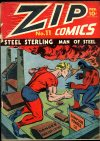 Cover For Zip Comics 11