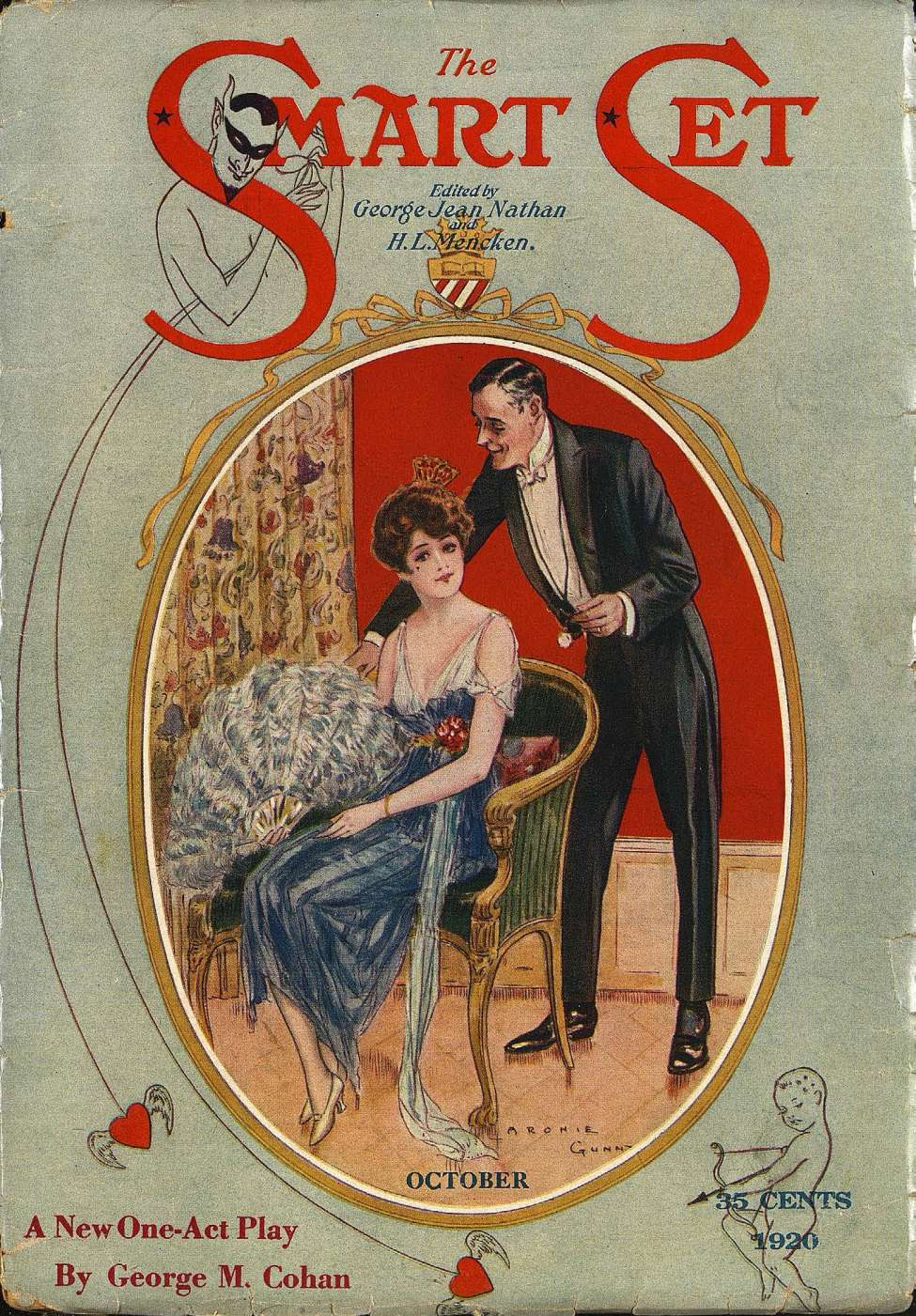 Comic Book Cover For The Smart Set v63 02