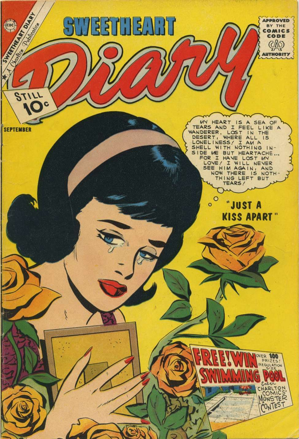 Comic Book Cover For Sweetheart Diary #60