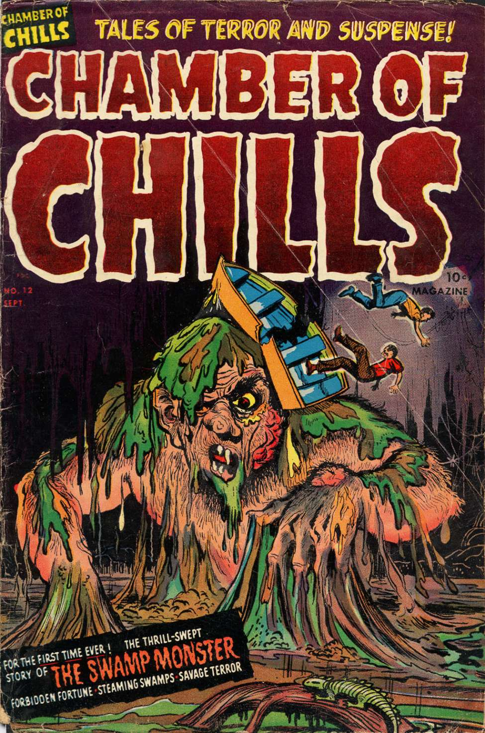 Comic Book Cover For Chamber of Chills Magazine #12