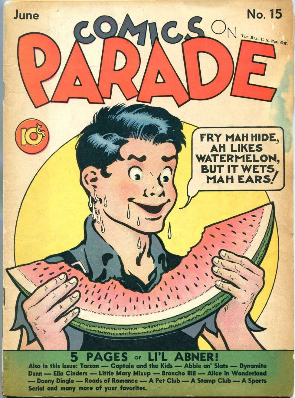 Comic Book Cover For Comics on Parade v2 3 (15)