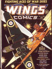 Large Thumbnail For Wings Comics #6