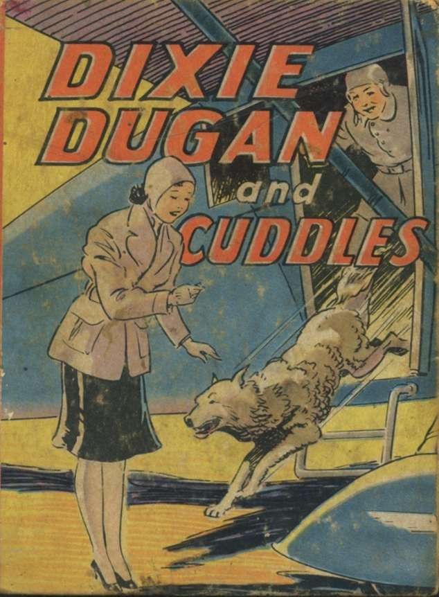 Comic Book Cover For Big Little Book 1108 - Dixie Dugan & Cuddles