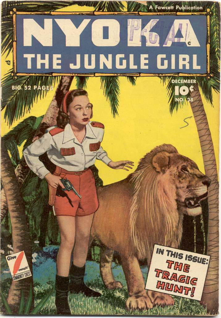 Comic Book Cover For Nyoka the Jungle Girl #38