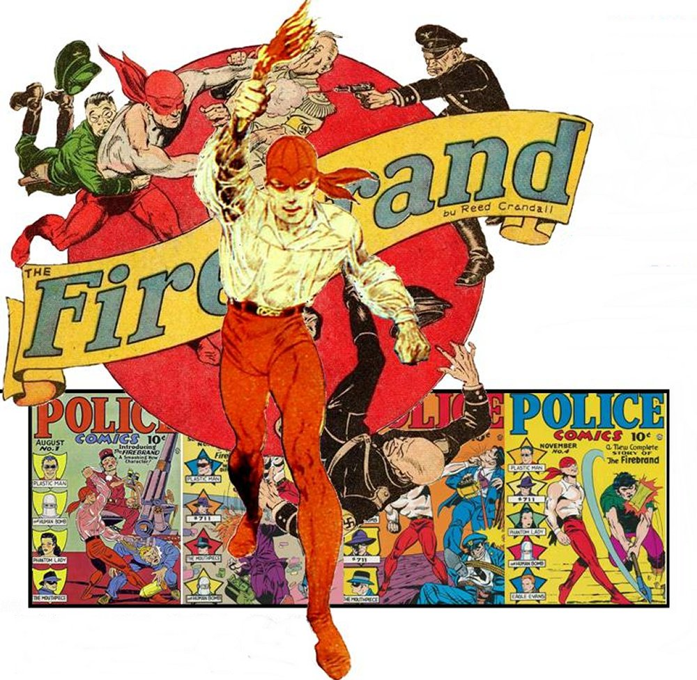 Comic Book Cover For Firebrand Archives - Featuring Reed Crandall artwork