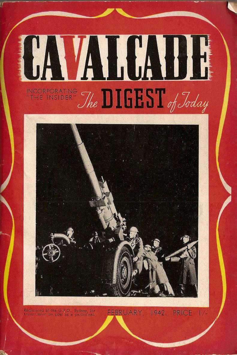 Comic Book Cover For Cavalcade 1942-02