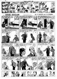 Large Thumbnail For Dixie Dugan 1937 - Sundays