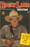 Cover For Rocky Lane Western 45