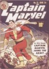 Cover For Captain Marvel Adventures 12 (fiche)