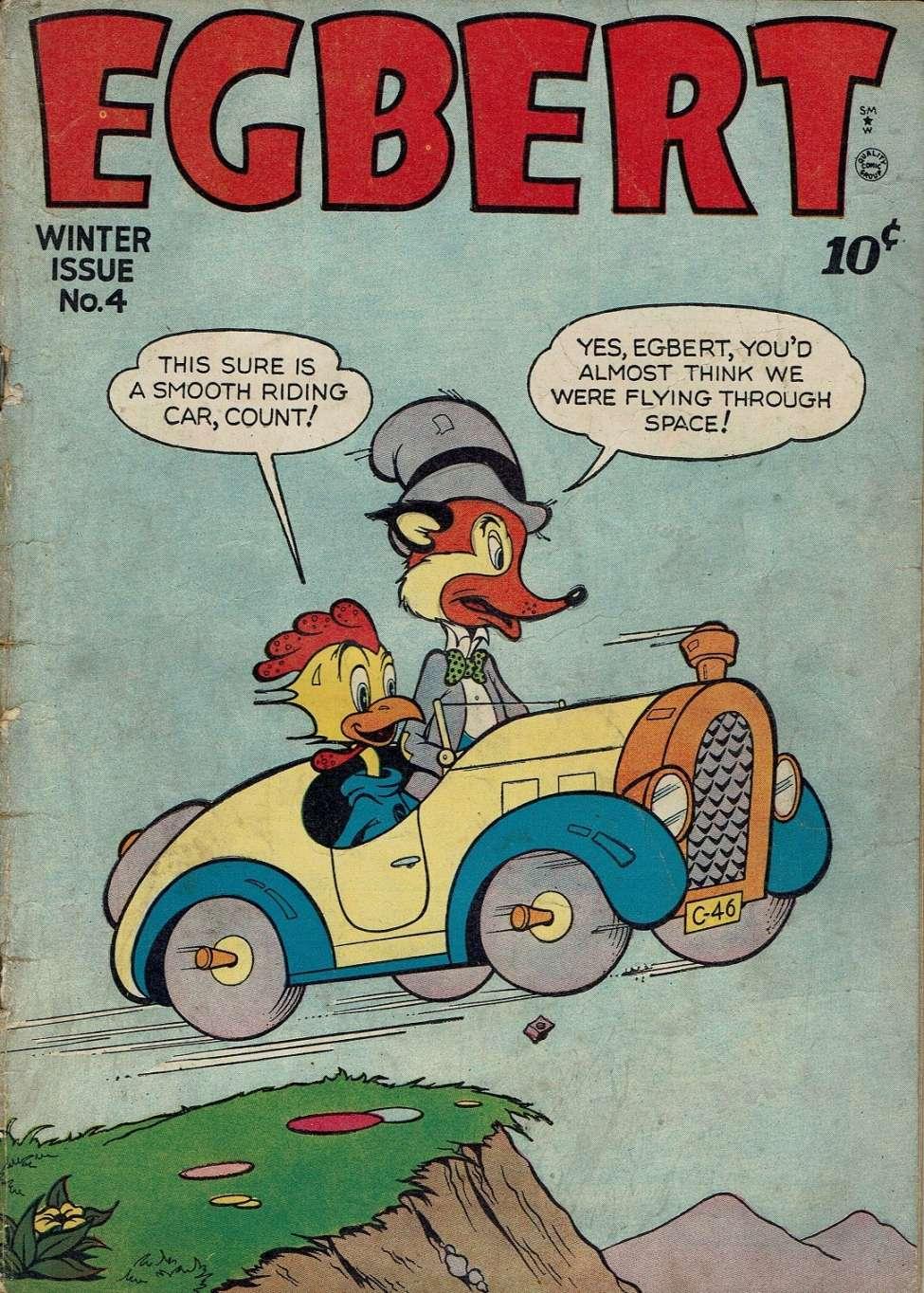 Comic Book Cover For Egbert #4