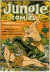 Cover For Jungle Comics 33