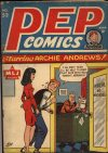Cover For Pep Comics 52