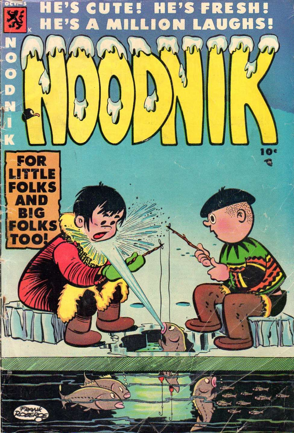 Comic Book Cover For Noodnik #5
