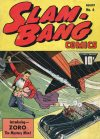 Cover For Slam Bang Comics 6