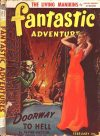 Cover For Fantastic Adventures v4 2 Doorway to Hell Frank Patton p1