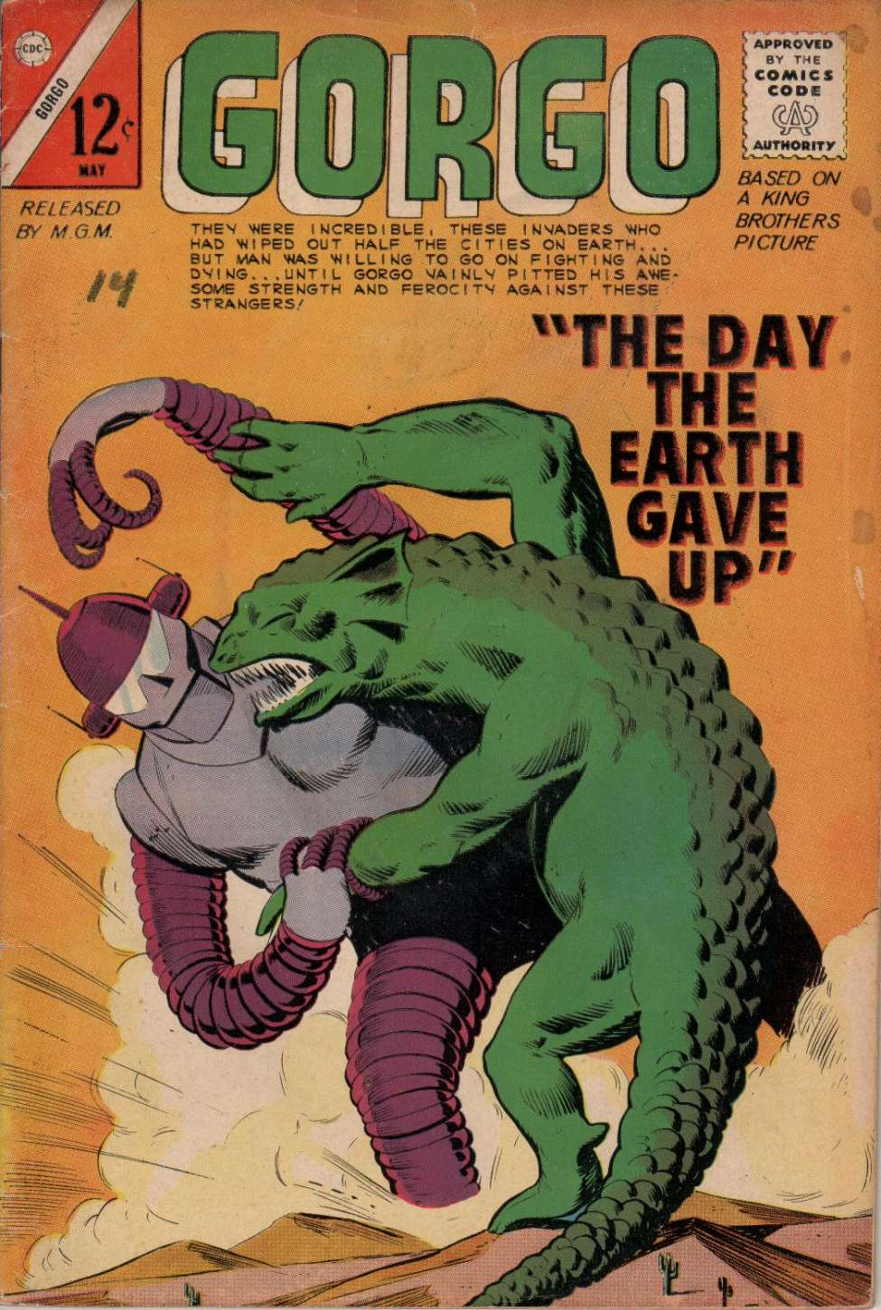 Comic Book Cover For Gorgo #18