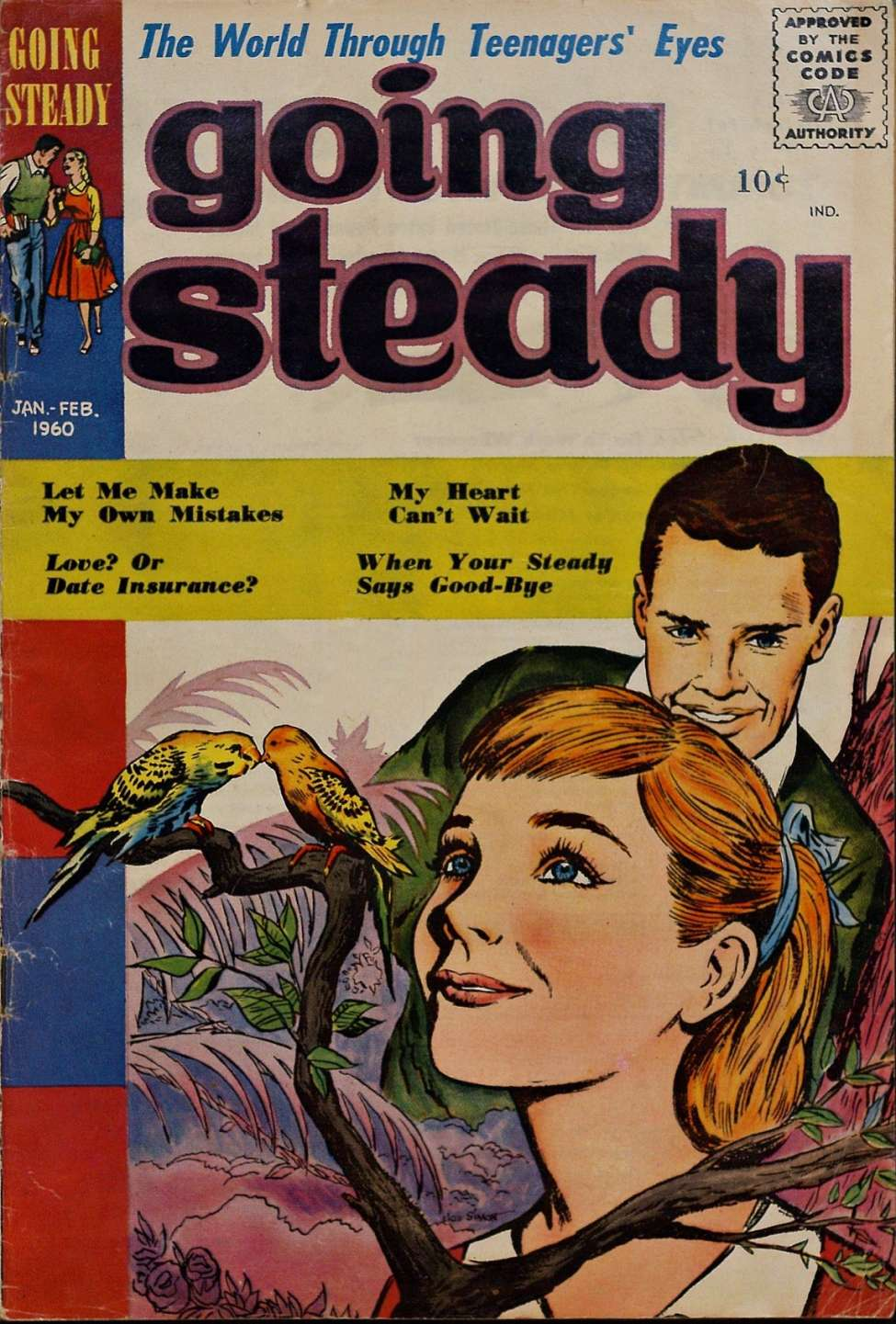 Comic Book Cover For Going Steady v3 #3