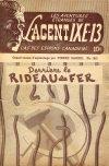 Cover For L'Agent IXE 13 v2 140 Derriere le rideau de fer