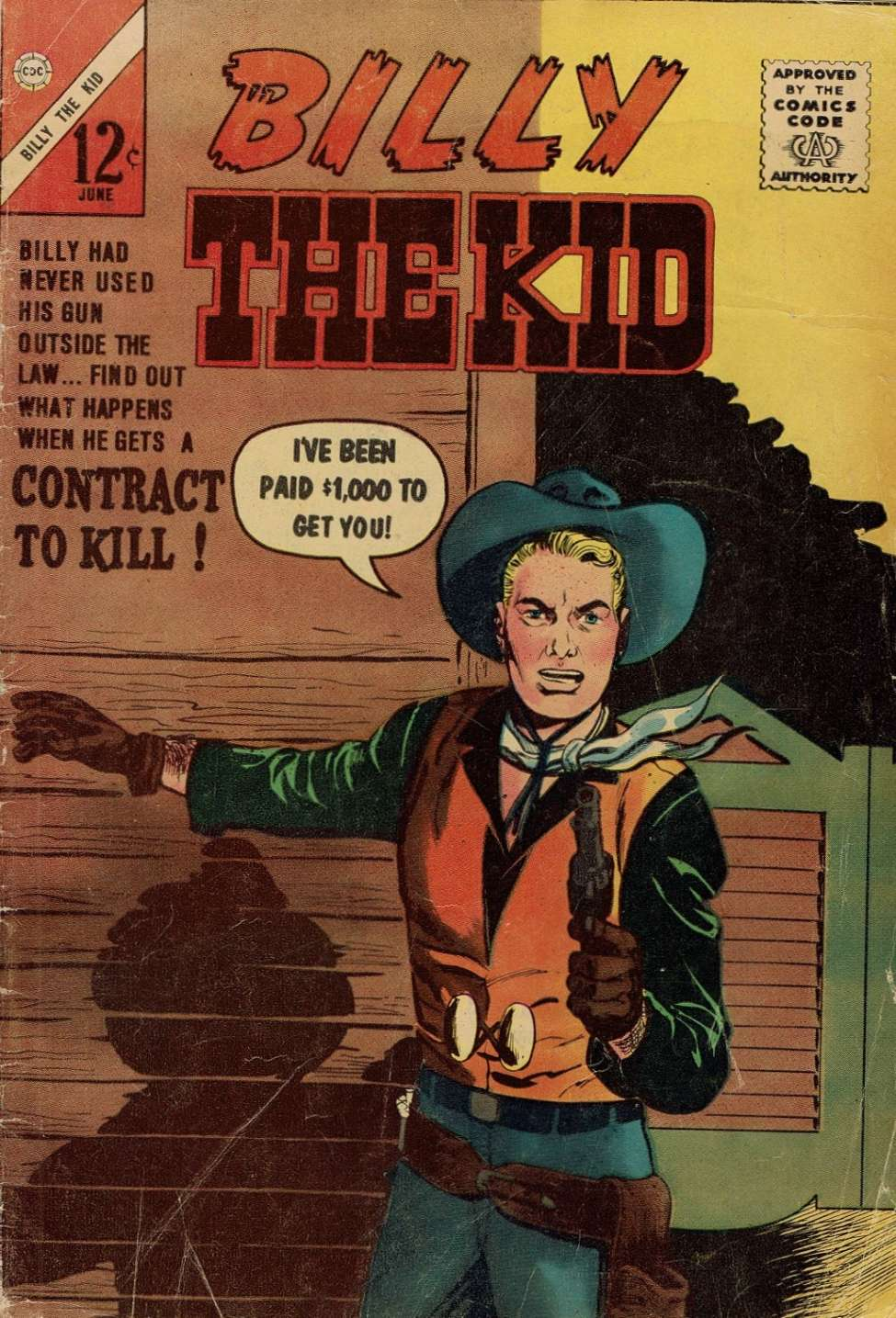Comic Book Cover For Billy the Kid #40