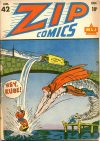 Cover For Zip Comics 42