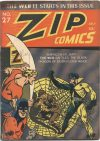 Cover For Zip Comics 27