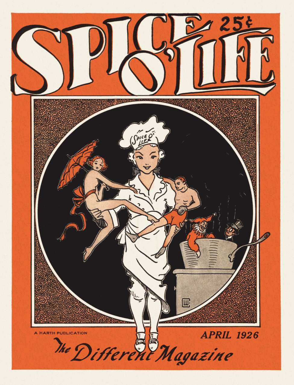 Comic Book Cover For Spice O' Life v01 01