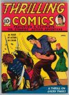 Cover For Thrilling Comics 3