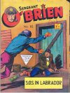 Cover For Sergeant O'Brien 82