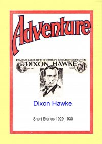Large Thumbnail For Dixon Hawke Short Stories 1929-30