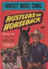Cover For Fawcett Movie Comic 12 Rustlers On Horseback