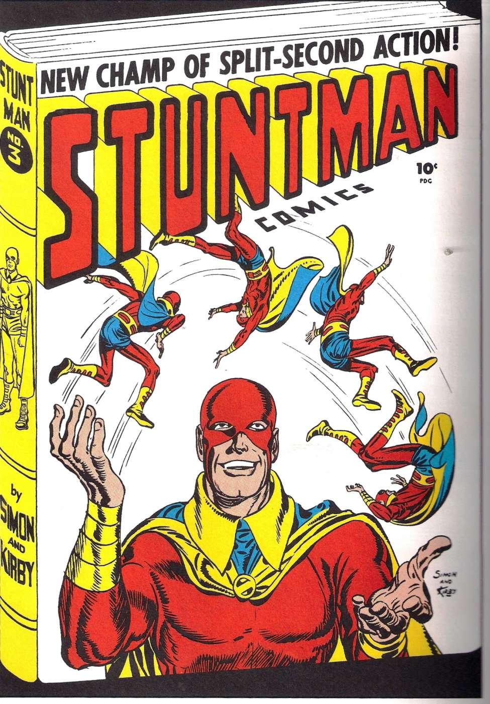 Comic Book Cover For Stuntman #3