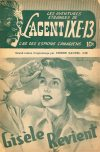 Cover For L'Agent IXE 13 v2 128 Gisèle revient