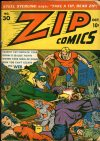 Cover For Zip Comics 30