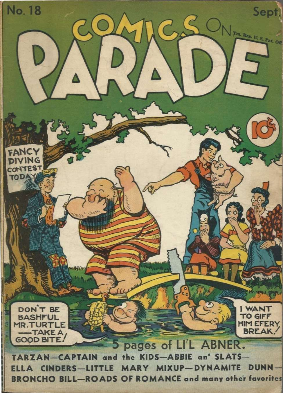 Comic Book Cover For Comics on Parade 018