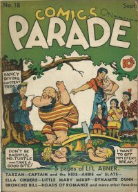 Large Thumbnail For Comics on Parade 018
