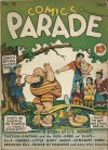 Cover For Comics on Parade 18