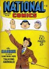 Cover For National Comics 58
