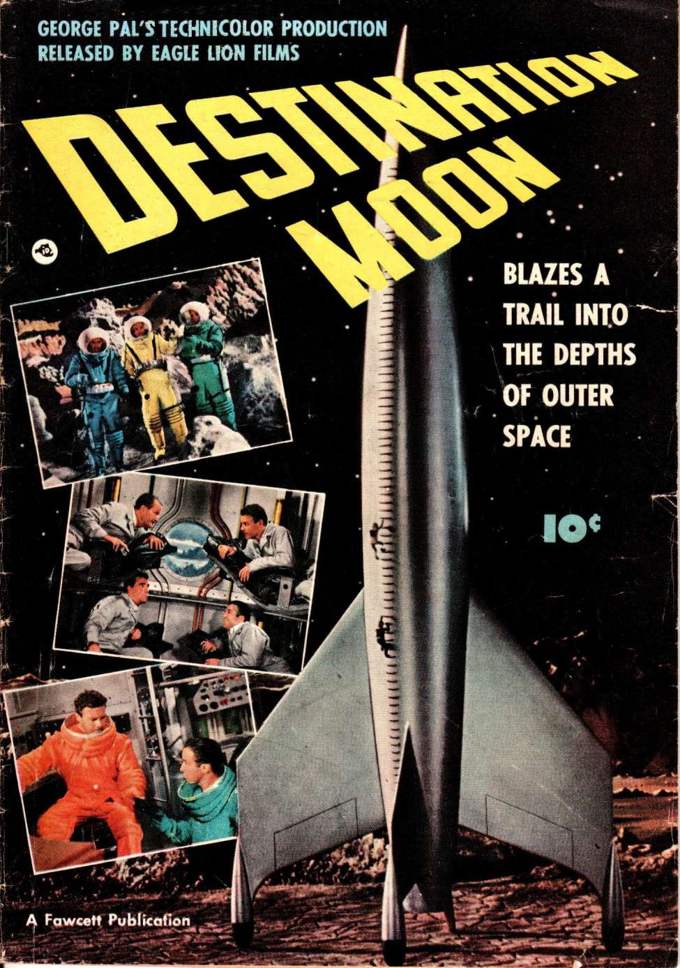 Comic Book Cover For Destination Moon [nn]