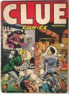 Cover For Clue Comics 12