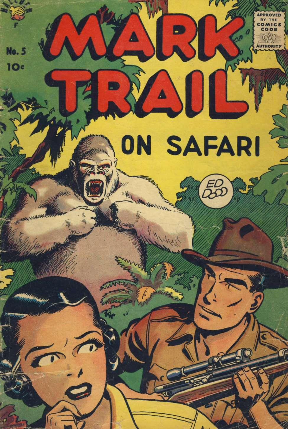 Comic Book Cover For Mark Trail on Safari #5