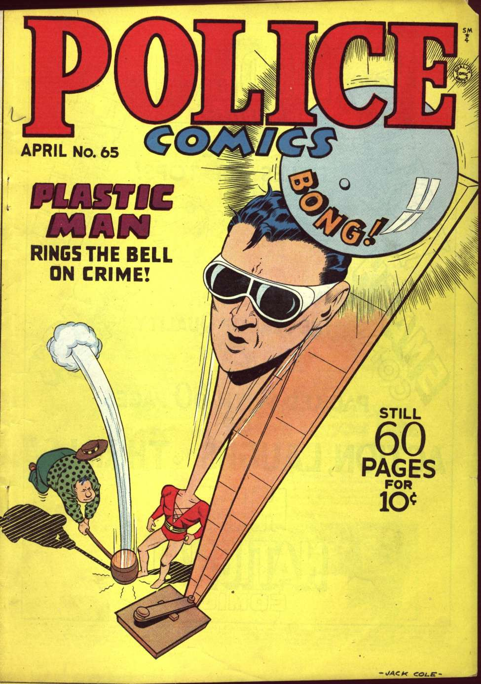 Comic Book Cover For Police Comics #65