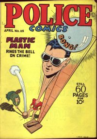 Large Thumbnail For Police Comics #65
