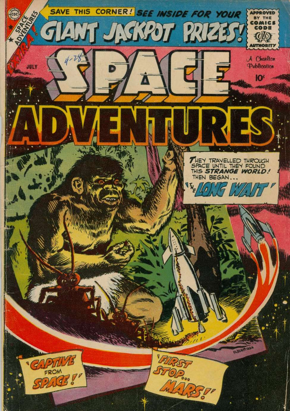 Comic Book Cover For Space Adventures #29